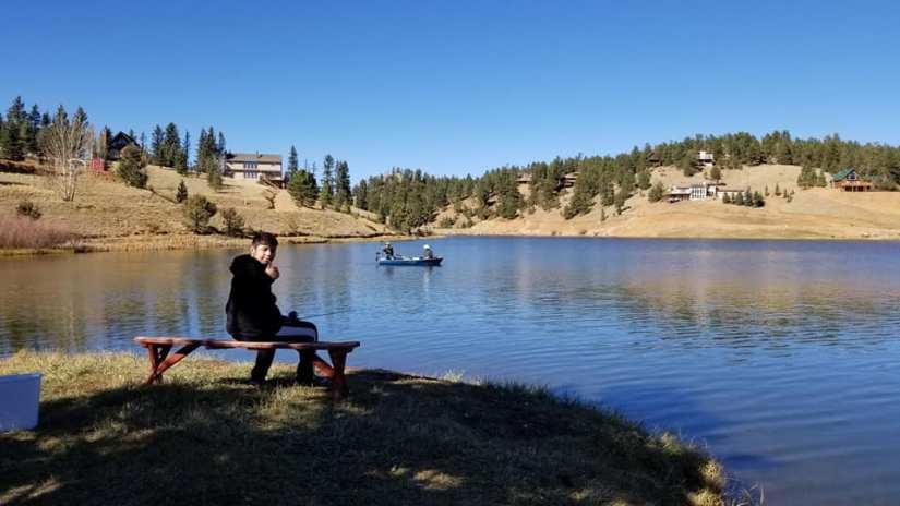 Peakview Cabin Pikes Peak Mountain Getaway - Fishing Picture